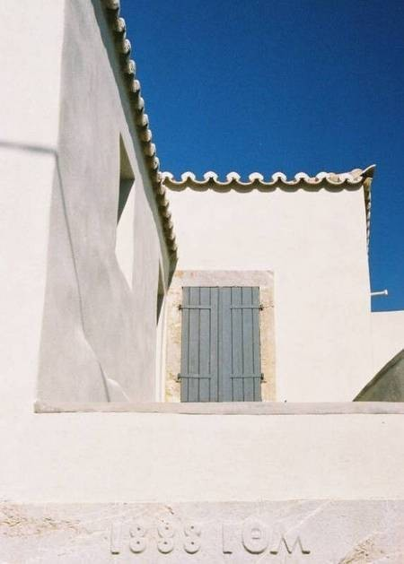 The grey shutters