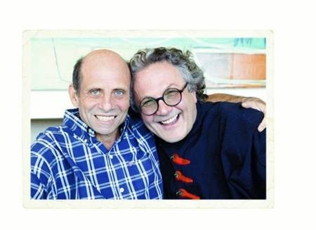 George Miller and Micheal Jonson. Good Mates.