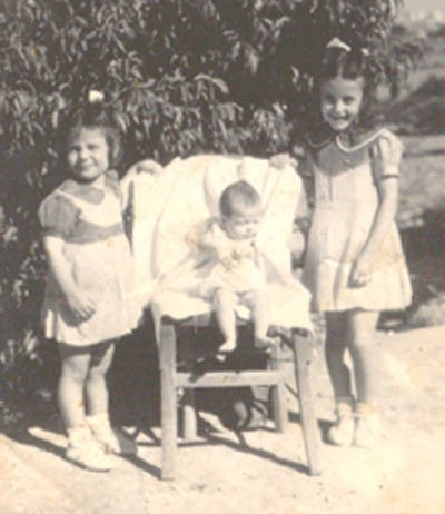Fatseas Girls (Daughters of Spiro & Koula (Korsolas) Fatseas)