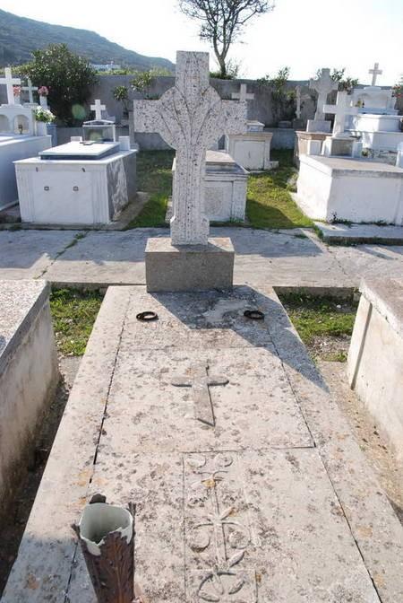 Grave of Panagiotis at Drymonas