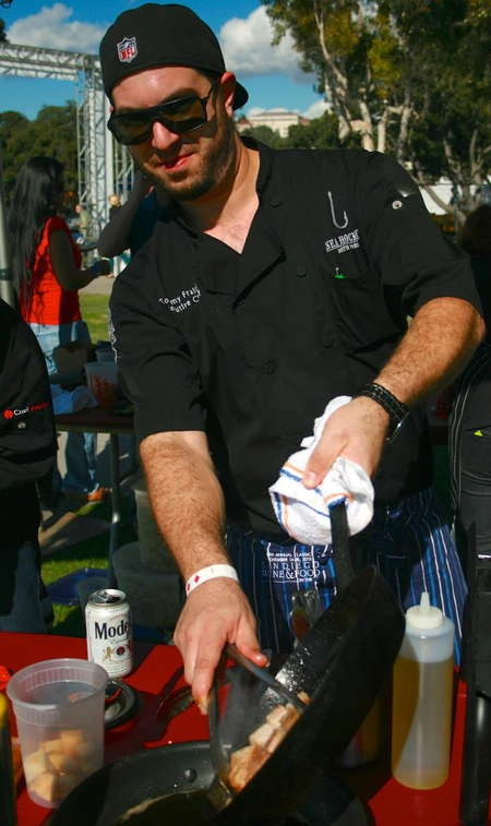 Tommy Fraioli, Executive Chef, Sea Rocket Bistro, San Diego, CA
