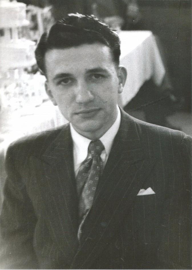 Stephen Zantiotis about 1950