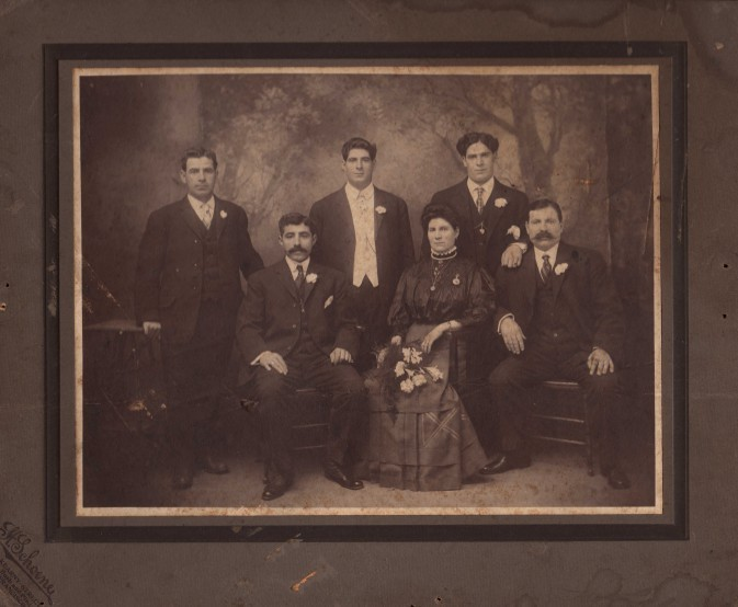 Combis Family Members circa 1920