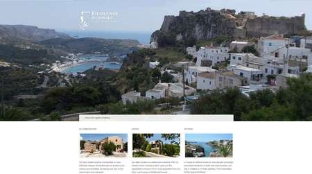 Filoxenes Katoikies manages a portfolio of traditional dwellings on the island of Kythera - Filoxenes Katoikies