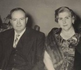 Jim and Penelope Castrisos, Nowra,  in middle life.