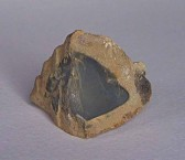 Black flint and limestone