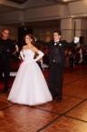 Katrina Kastanias and Charles Tzannes. Debutante and partner.