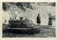 Women at the well near Christoforianika