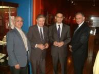 Victor Kepreotis, Prof. Manuel Aroney, Stavros Paspalas, & Angelo Crones.
