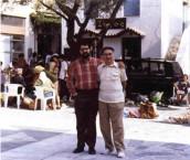 Elias Vlanton, and Elias Vlanton, father and son, in Potamos, Kythera