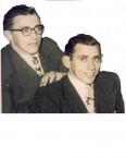 Spiro and Brinos Notaras. 1955.