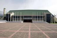 Tofalos Stadium. Frontage.