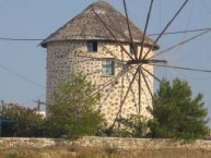 Windmill at Livathi after reconstruction.