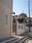 Front steps. Ayios Haralambos Church, Karavas.