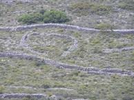 Great Walls on the hillside of Kakospilata