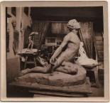 Aspiration Paris 7 10 1913. Sculpture by Emmanuel Cavacos