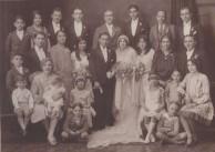 Wedding of Nicholas Sophios to Aspacia Lianos c, 1927