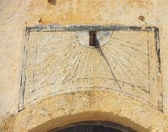 The House with the Sundial. The Sundial before the renovation