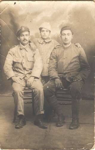 Uncle Alex Panaretos in Greek Army