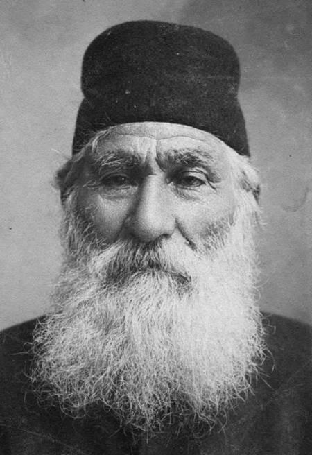 Papas Levoune - portrait detail