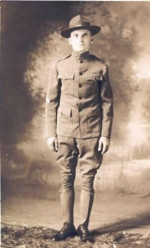Private Theodore D. Gavrilys WW I