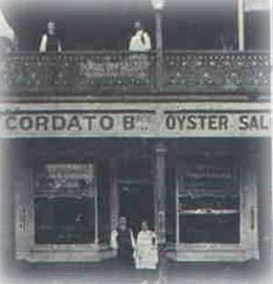 Store owned by the Cordato Brothers, who arrived in Australia from Kythera in 1901