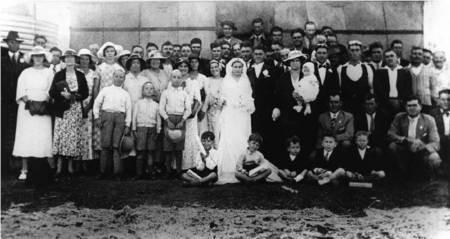 Wedding at Biloela on 4 November, 1937