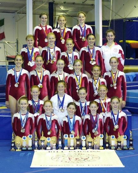 New South Wales. Amateur Gymnastics. 2006. Team.