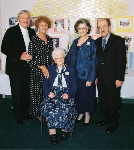 Stamatoula Chlentzos 100th Birthday - Nov. 2, 2006