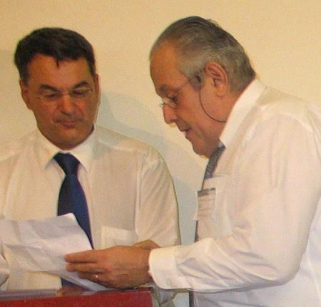 George C Poulos & Dr Nick Comino discuss Mr Chris Andalis' poem...