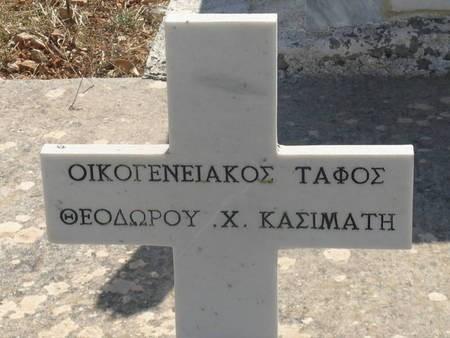 ON THE CROSS OF THEODOROY H. KASIMATI PLOT