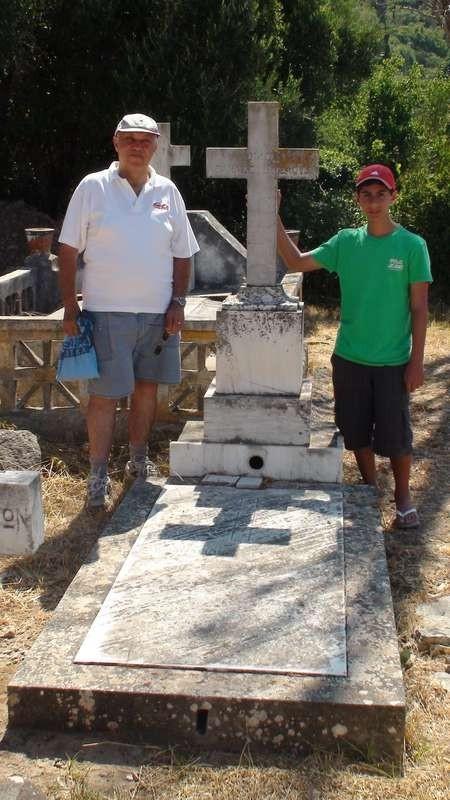 Athanasios Dimitriou Tsauosis Gravesite, Viaradika Cemetery