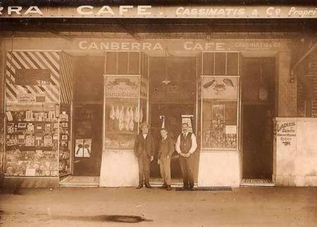 Kytherian Association of Australia - The Founding Fathers - Canberra Cafe, with Cosmas Cassimatis