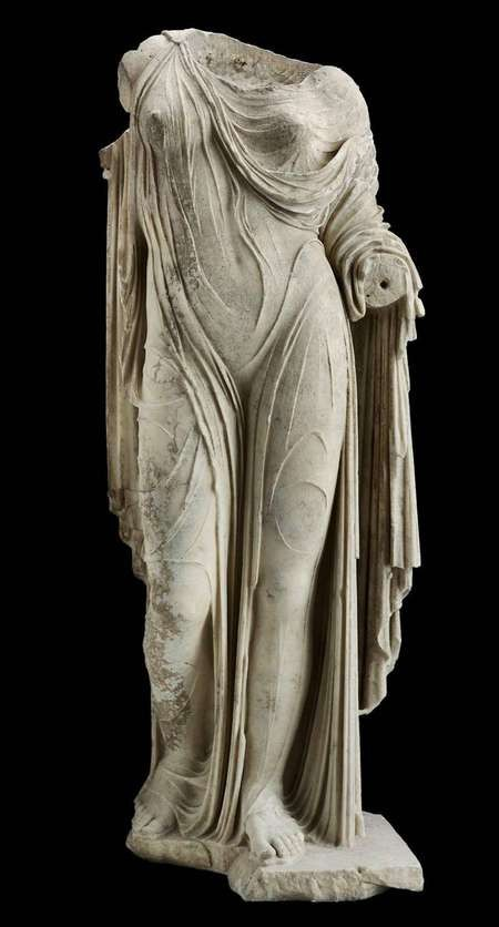 Exploring the Mysteries and Myth of Aphrodite and Venus - Pictured, Statue of Aphrodite or a Roman Lady Roman, second century AD.