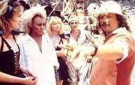 George Miller on set of Mad Max III