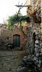 Inside the kastro in Kato Hora