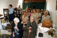 village church service.