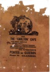 Pentes and Gleesos Paper Bag. c. early 1930's. Gilgandra. NSW.