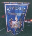 Banner of the Kytherian Brotherhood of Baltimore, USA.
