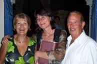 Mrs Matina Samios (nee, Protopsaltis), Mrs George Miller, & Mr Manuel Samios.