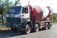 Cement Truck.