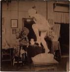 1915. Art Studio of Emmanuel Cavacos, Paris.