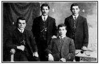 The Kritharis and Tzortzopoulos brothers