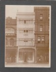 Restaurant at 617 George St Sydney, owned by Bretos Margetis in the 1920s