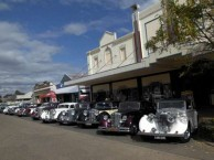 The beautiful Roxy 'complex' attracts vintage car tourers on a regular basis