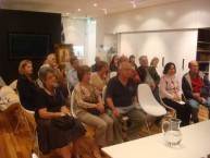 At the Question & Answer evening