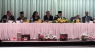 On the head table at a dinner dance, held on November 9th, 2012