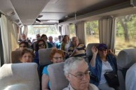 Belrose Rotarians, on the Brownlee bus, during their pilgrimage to Bingara