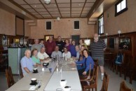The Belrose Rotarian group met for early morning breakfast in the Roxy Cafe