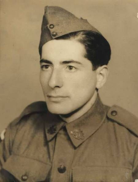 Private Andonis Pentopoulos in 1941